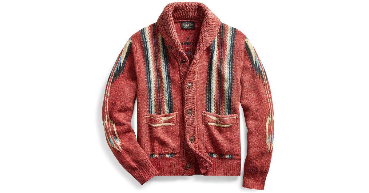 Lyst - RRL Shawl-collar Cotton 3fff999b5