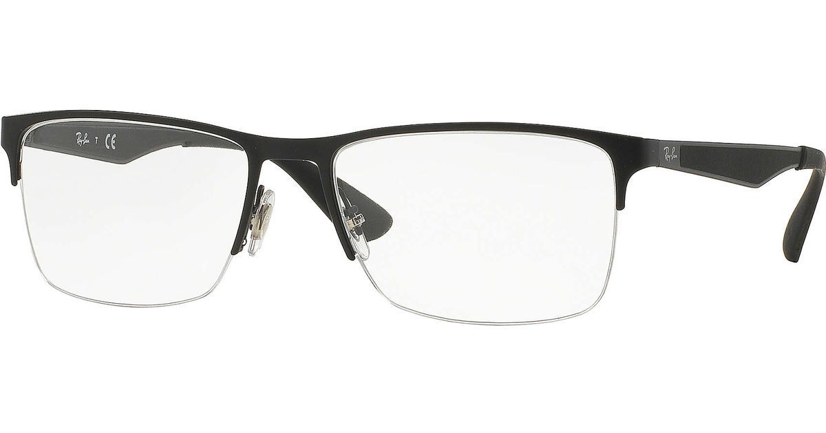 06ec55f87f Lyst - Ray-Ban Rb6335 in Black for Men