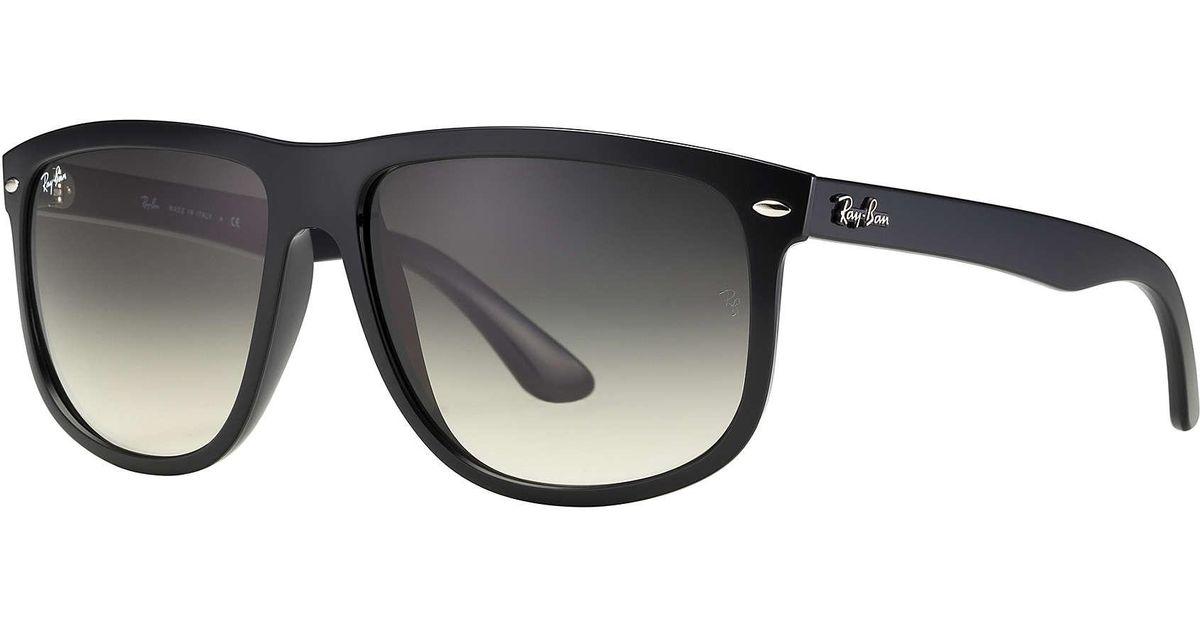 60dd9904cf9 ... 15 polarized lenses 60mm fe578 2abda  get lyst ray ban rb4147 black in  black 14ac8 466fd