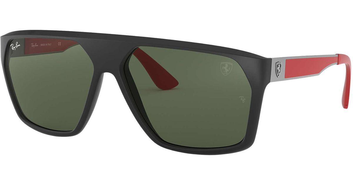 348e1dd8155 Lyst - Ray-Ban Scuderia Ferrari Collection Rb4309m in Green for Men
