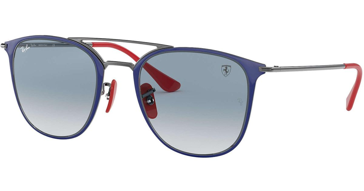 b2225fd194d Ray-Ban Scuderia Ferrari Collection Rb3601m in Blue for Men - Lyst
