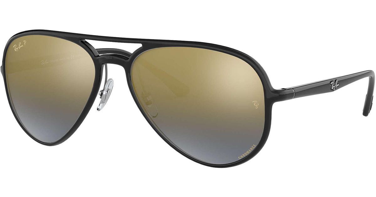 e63e952283 Lyst - Ray-Ban Rb4320ch Chromance in Black for Men