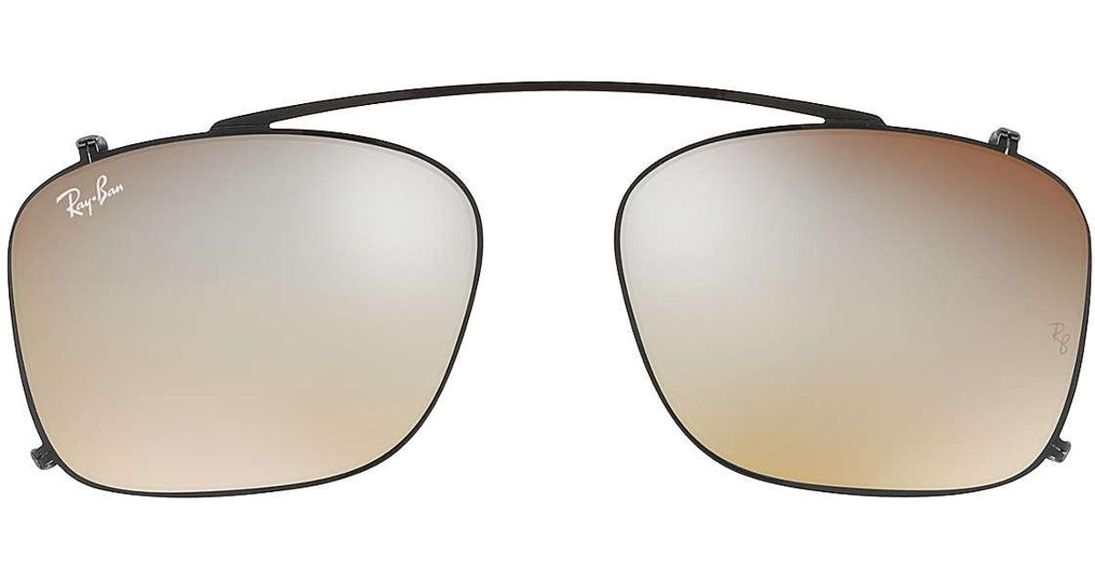 Ray-Ban Rb5228 Clip-on for Men - Save 3% - Lyst 7503d6ff51