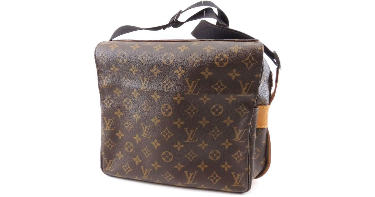 4c4682372685 Lyst - Louis Vuitton Monogram Canvas Shoulder Bag Special Order Naviglio  M45255 in Brown
