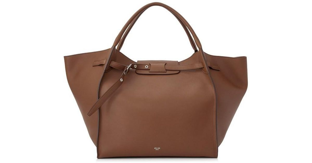 Lyst - Céline Medium Big Bag in Brown a67e816015f65