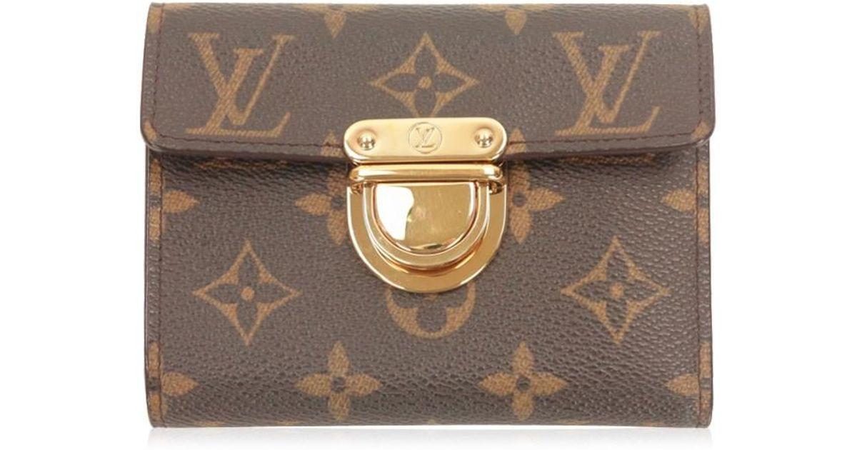7ddb085e783 Lyst Louis Vuitton Monogram Portefeuille Koala Bifold Wallet Very