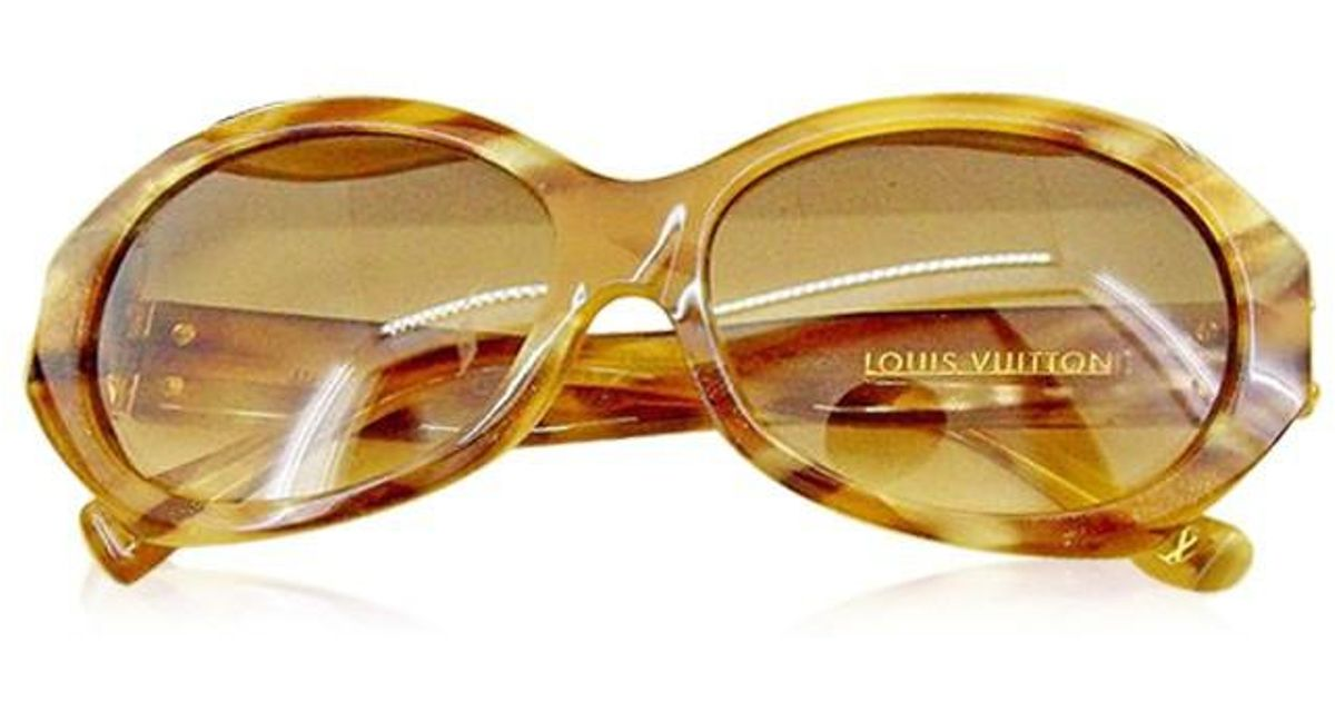 def4e7128be4 Lyst - Louis Vuitton Sunglasses Serie Hardware Ladies Used T1972 in Natural
