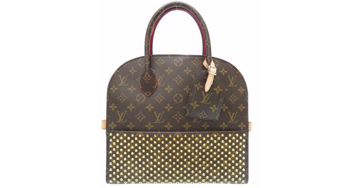 b78a4f8c5a9 Louis Vuitton - M 41234 Louboutin Aikonoclasthand Bag Brown Monogramcanvas  Lv 0182 - Lyst