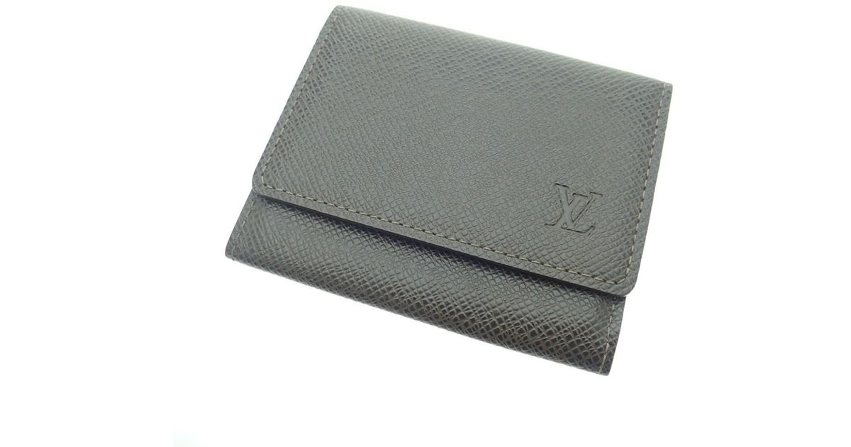Lyst - Louis Vuitton Taiga Card Case M30928 Anvelove Carte De Vigue ...