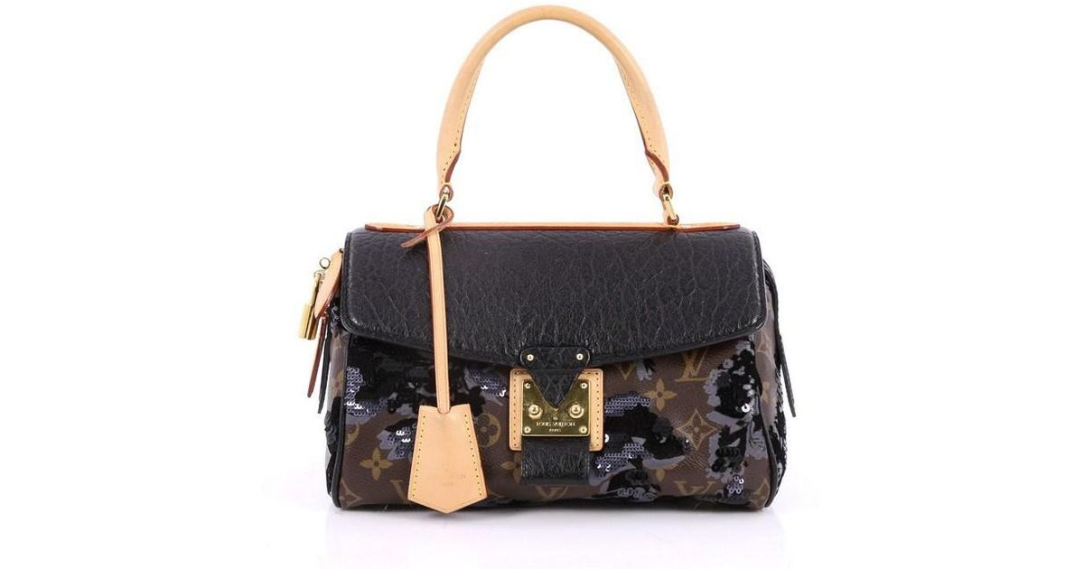Lyst - Louis Vuitton Carrousel Handbag Limited Edition Fleur De Jais in  Brown c7acfeda5ad94