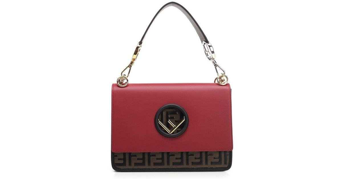 ebda00c3fa93 Lyst - Fendi Bags Fw18 Red