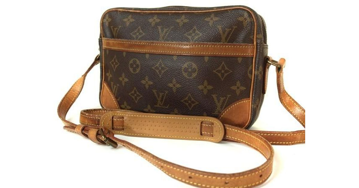 465ce3b43389 Lyst - Louis Vuitton Trocadero 23 Monogram Canvas Cross-body Shoulder Bag  Purse in Brown