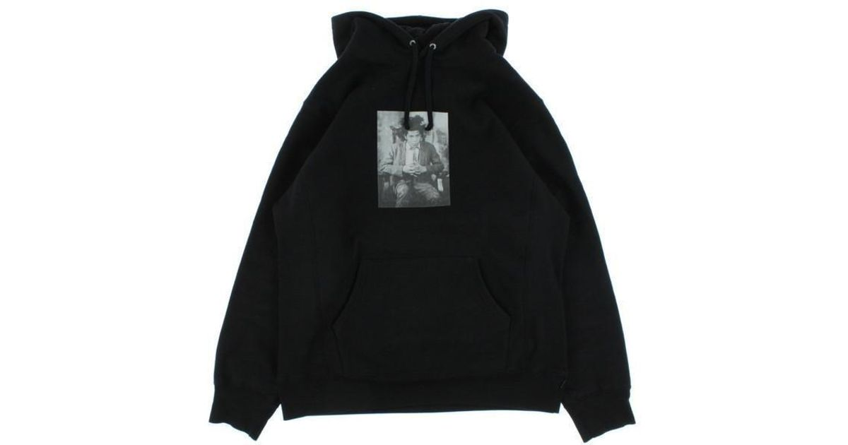 1e4b19a01886 Lyst - Supreme Hoodie Black Xl in Black for Men
