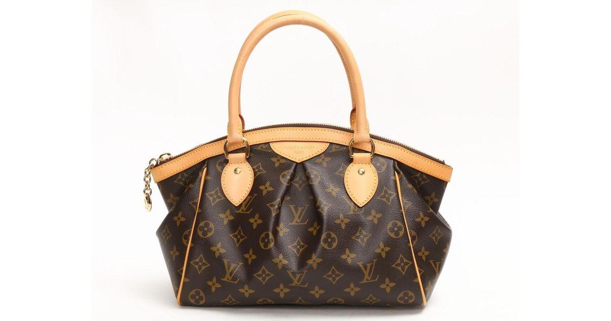 620f6a8d7aac Lyst - Louis Vuitton Tivoli Pm Handbag Bag Monogram Canvas M40143 in Brown