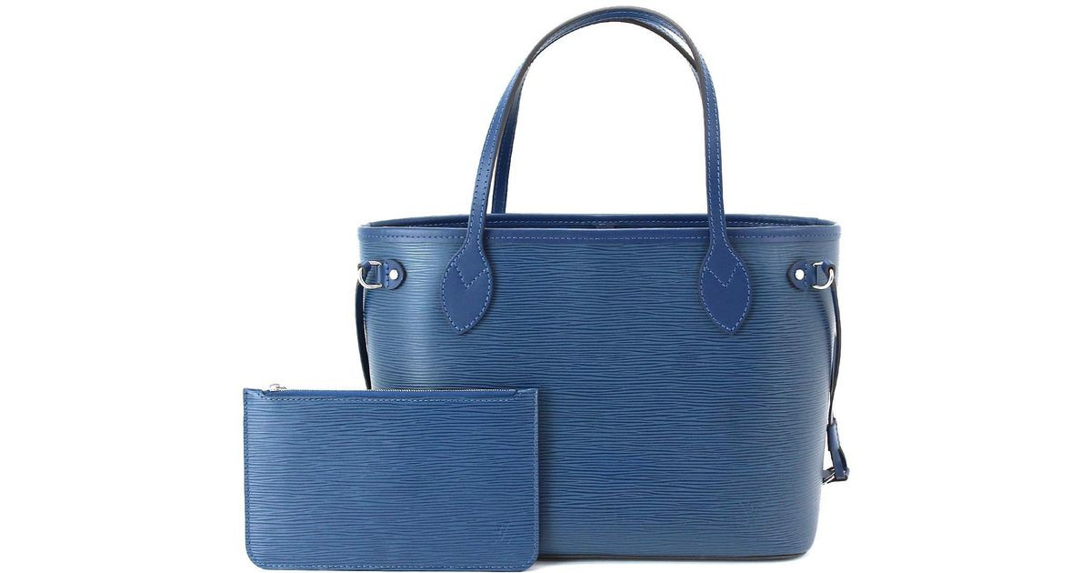 ad88c965f Louis Vuitton Epi Neverfull Pm Indigo Blue Tote Bag M40958 90043027.. in  Blue - Lyst