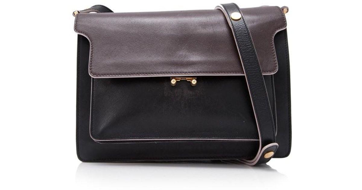 Pre-owned - Leather handbag Marni Q9KCv8t29