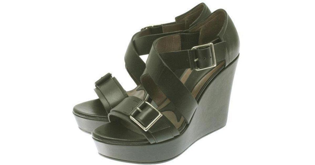 26870aa1fd1 Lyst - Marni Sandal Black 38 in Black