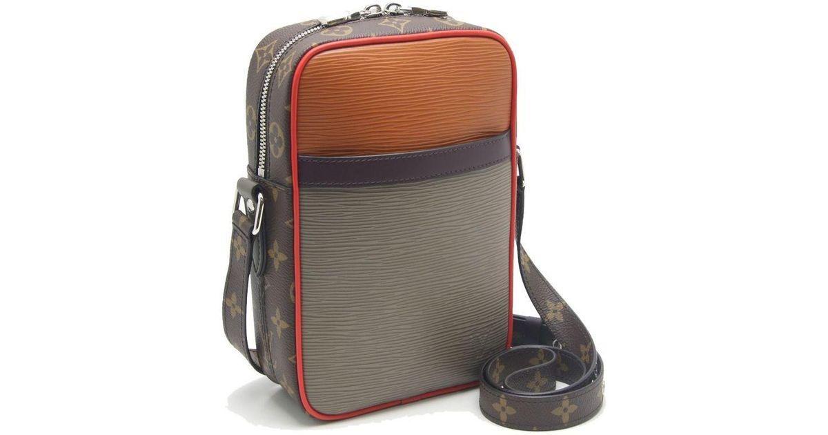 92759684cb61 Lyst - Louis Vuitton Epi X Monogram Danube Pm Shoulder Bag M53423  59208 in  Natural