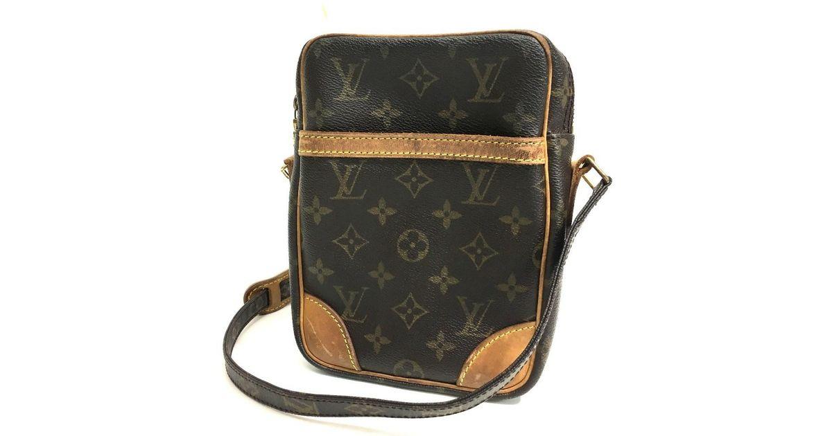 Lyst Louis Vuitton Monogram Danube Men S Women Shoulder Bag Monogramcanvas M45266 In Brown