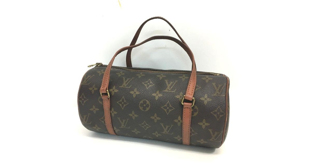 899896e71df3 Lyst - Louis Vuitton Monogram Papillon 26 Hand Bag M51366 in Brown