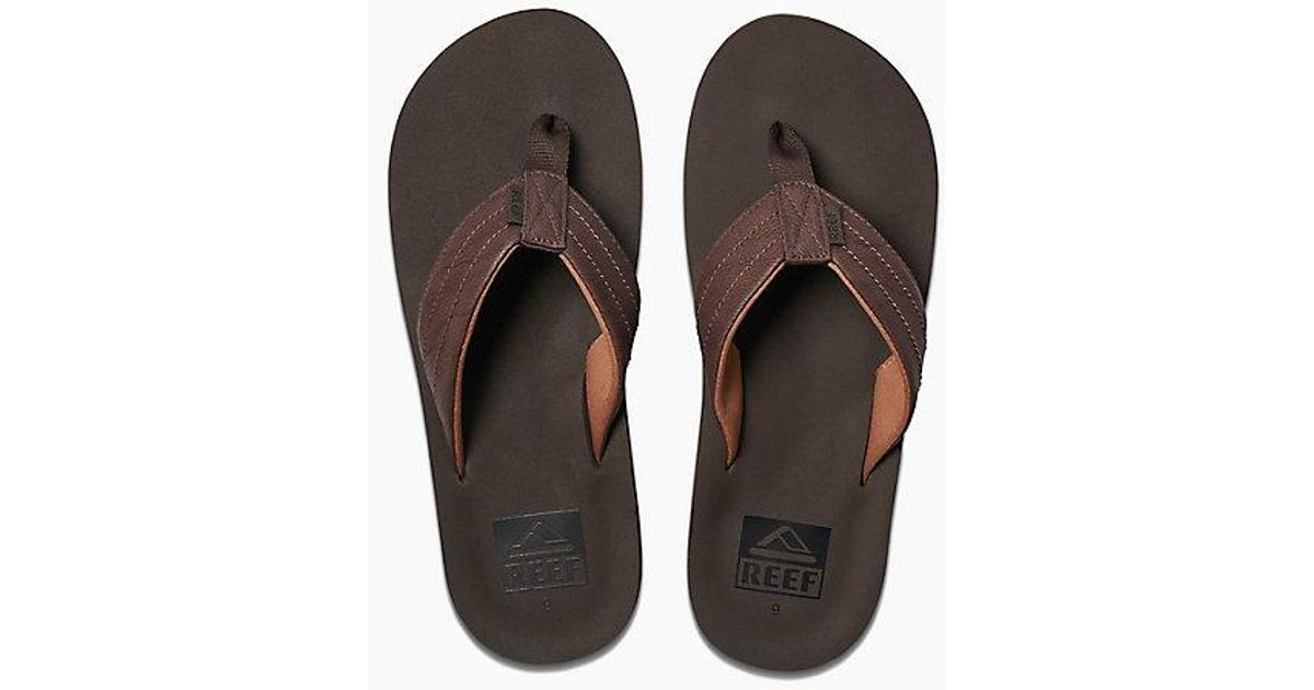 18e2c8f4147 Lyst - Reef Twinpin Lux in Brown for Men