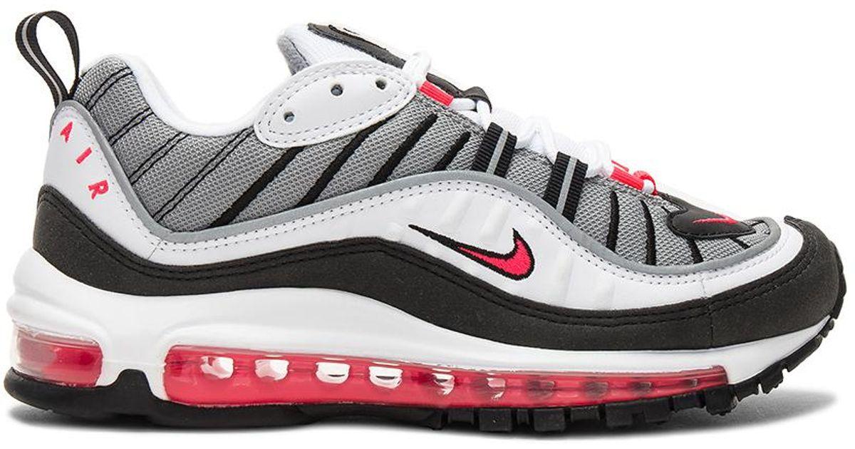 Nike White Air Max 98 Sneaker for Men Lyst