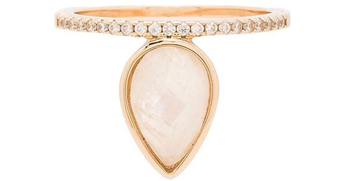 Signet Ring in Metallic Gold. - size 6 (also in 7,8) Melanie Auld