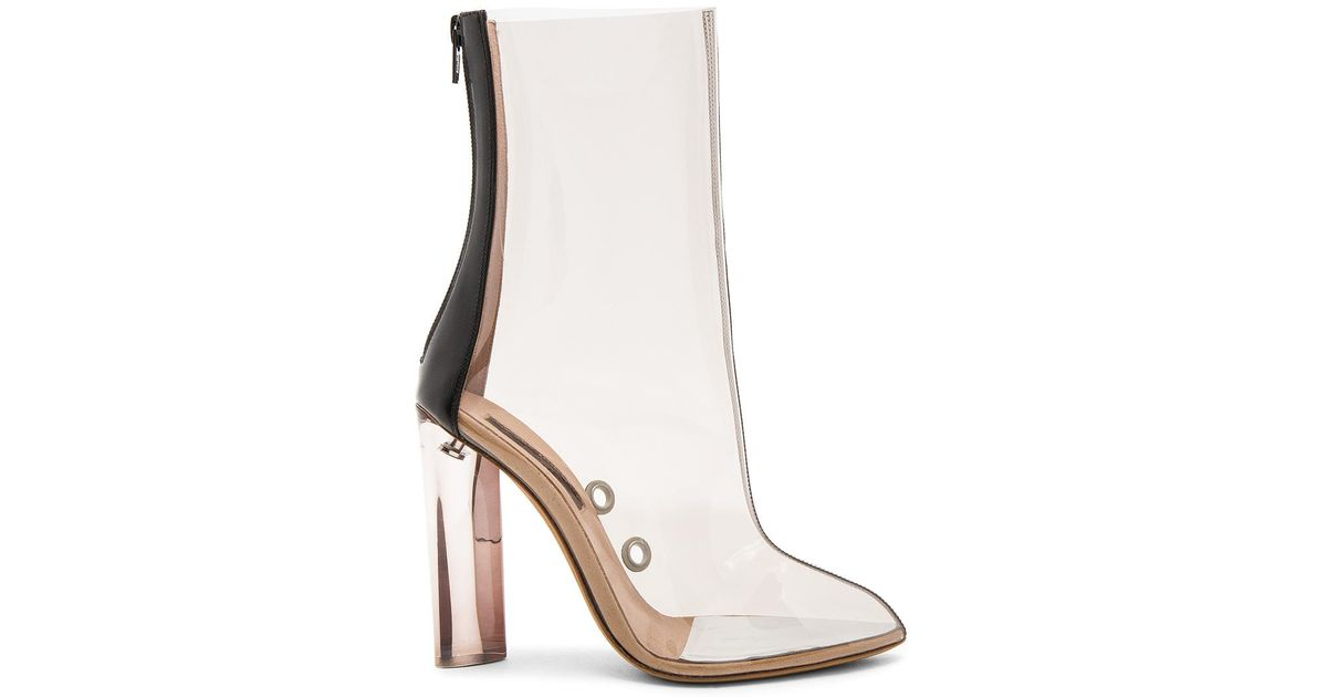 134daeca77a10 Lyst - Yeezy Pvc Ankle Boot in Natural