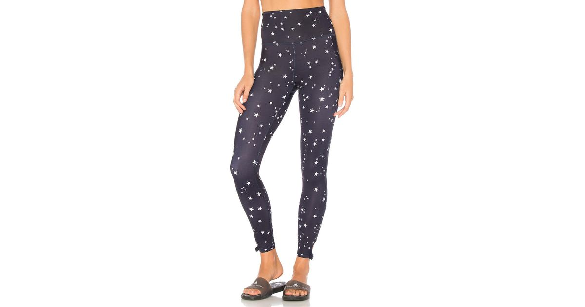 16d48533fe682 Beyond Yoga X Kate Spade High Waisted Midi Legging in Blue - Lyst