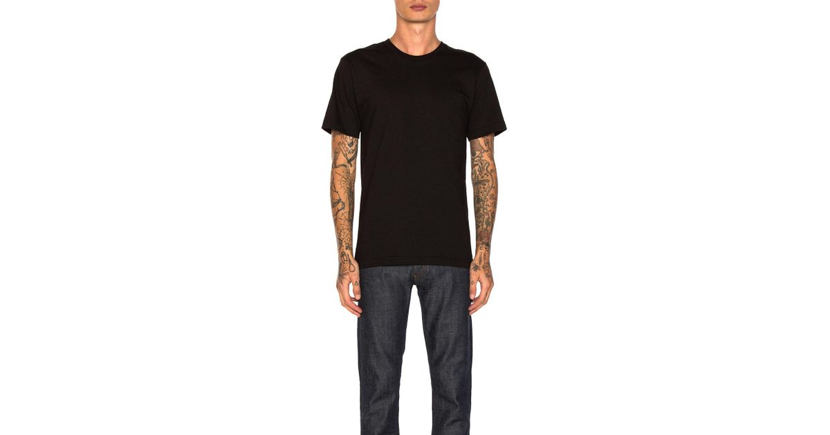 6f3fc8030fa Undefeated Felt Patch Strike Tee in Black for Men - Lyst