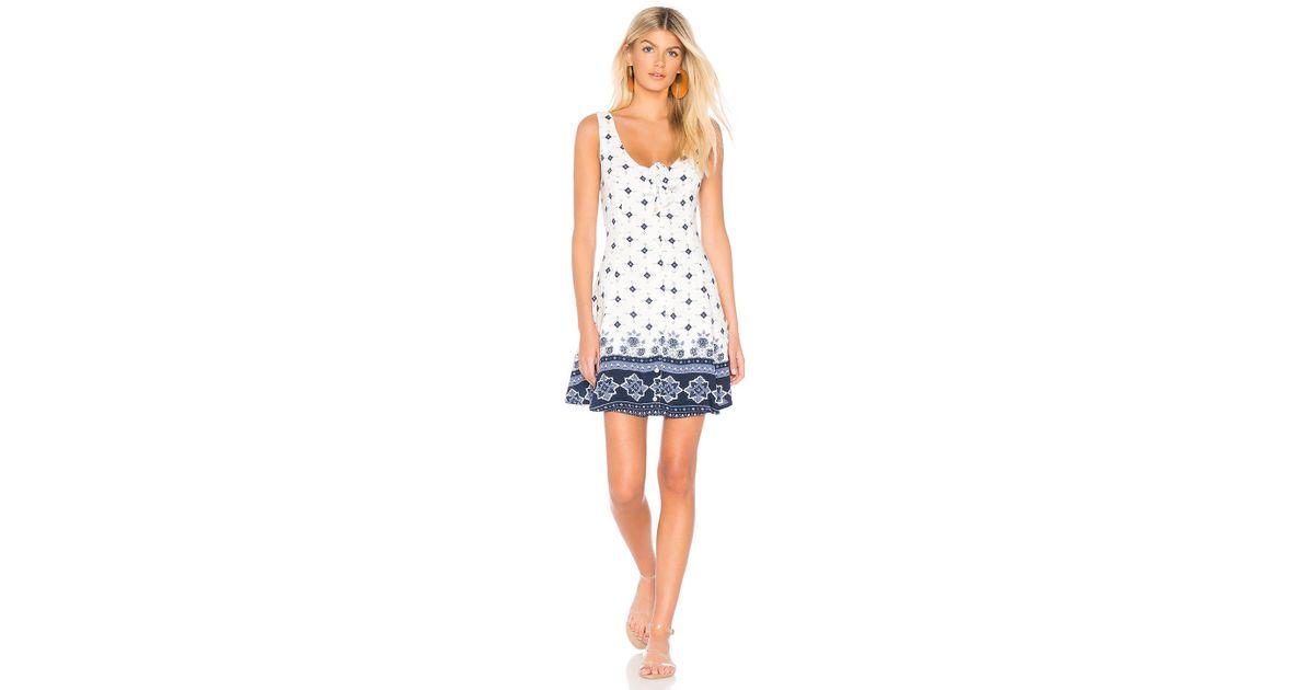 7b82d156d4a1 Somedays Lovin Morning Tides Mini Dress in Blue - Lyst