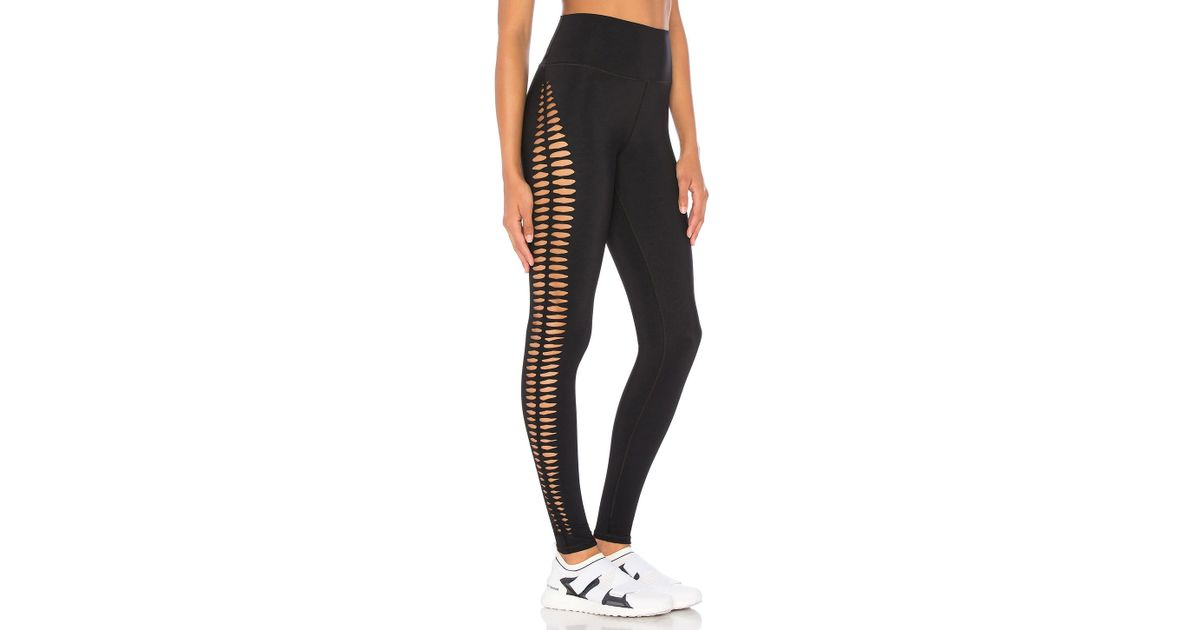 de0d4d799e Alo Yoga Reform Legging in Black - Lyst