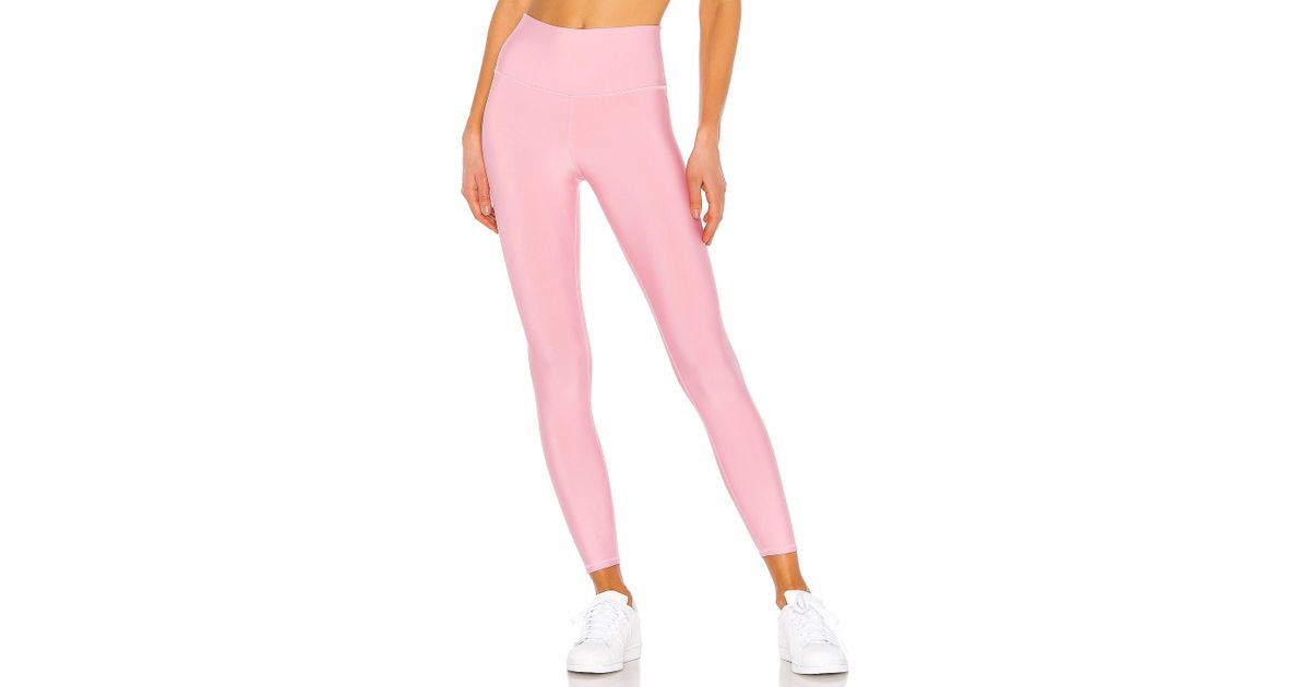 ebda84aa632096 Lyst - Alo Yoga 7/8 High Waist Airlift Legging in Pink