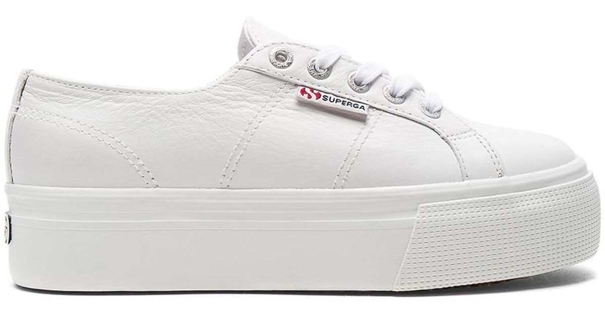 efe496f18b Superga 2790 Fglw Sneaker in White - Lyst