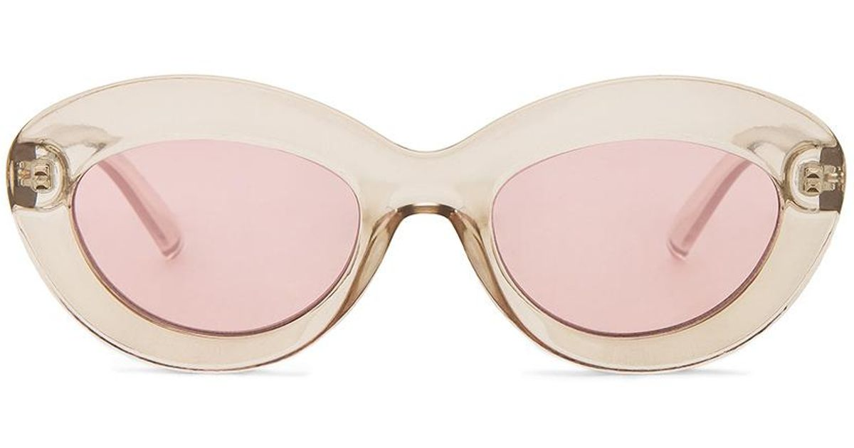 a49fced3412 Lyst - Le Specs Fluxus In Pink. in Pink