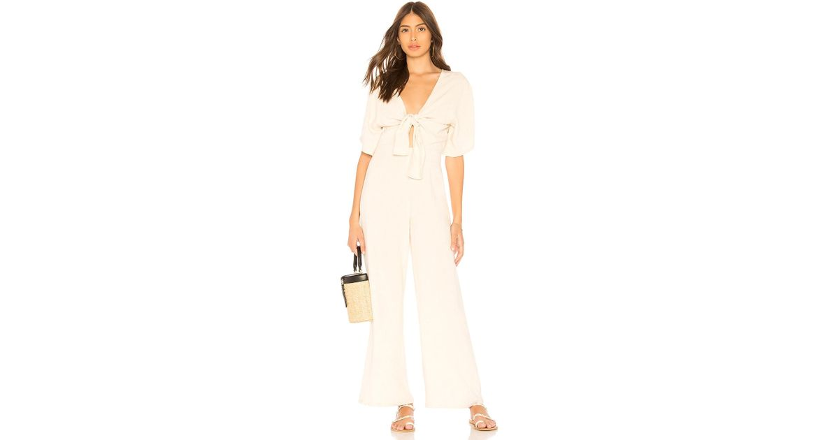 1ebfb1995b6 Rachel Pally Leon Jumpsuit in Natural - Lyst