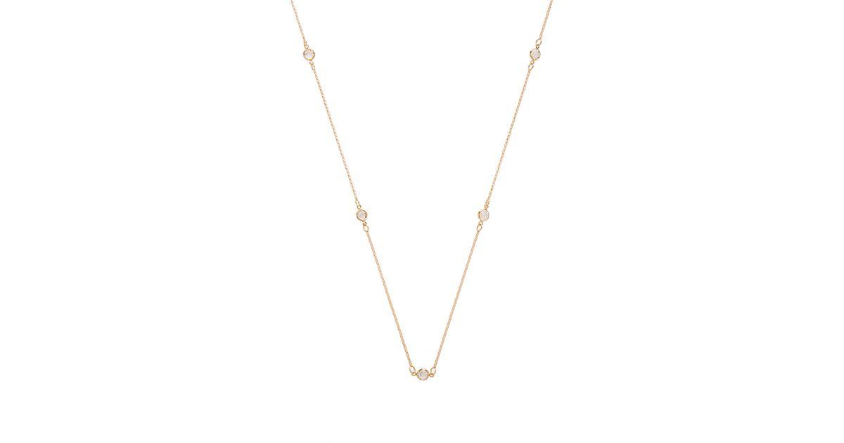 Frasier Sterling Sun Worshipper Wrap Necklace in Metallic Gold FlIBsL1