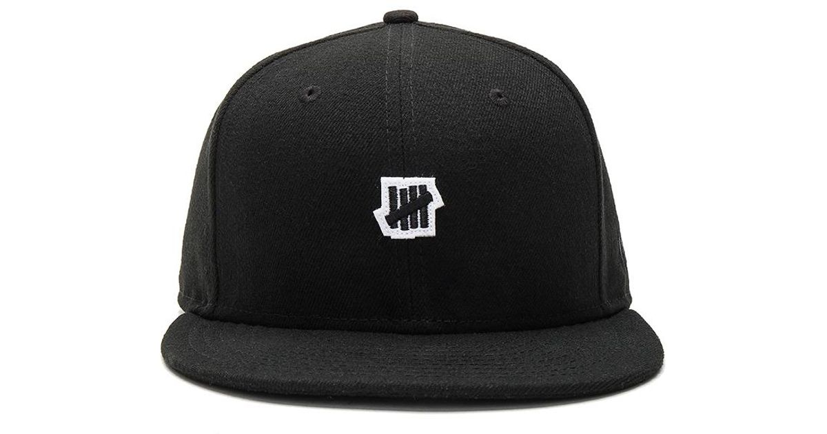 0903138908b Lyst - Undefeated Small 5 Strike Ne Cap in Black for Men