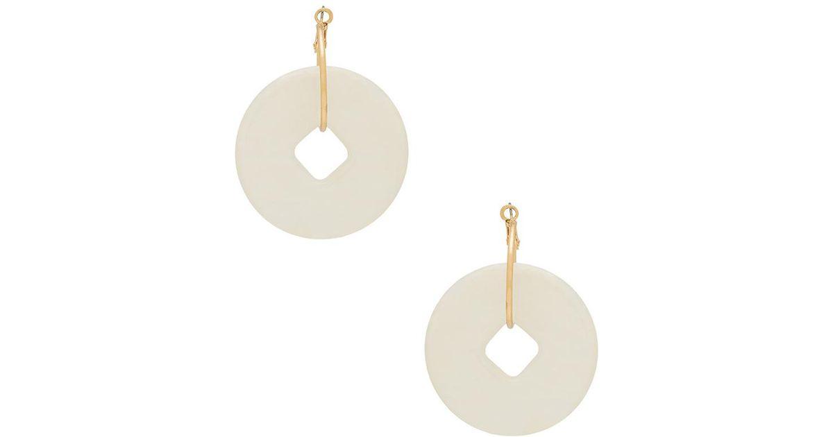 X REVOLVE Livia Earrings in Lavender Amber Sceats ELRatK