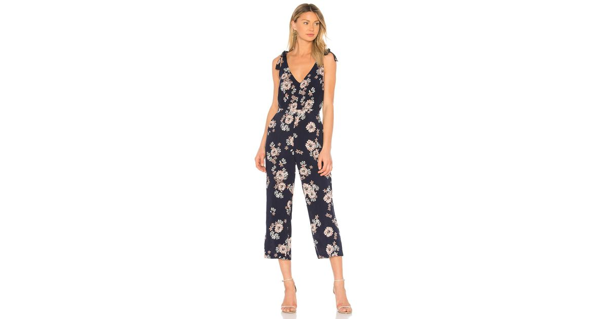 729185dd4e6e Lyst - Cupcakes And Cashmere Lili Jumpsuit in Blue