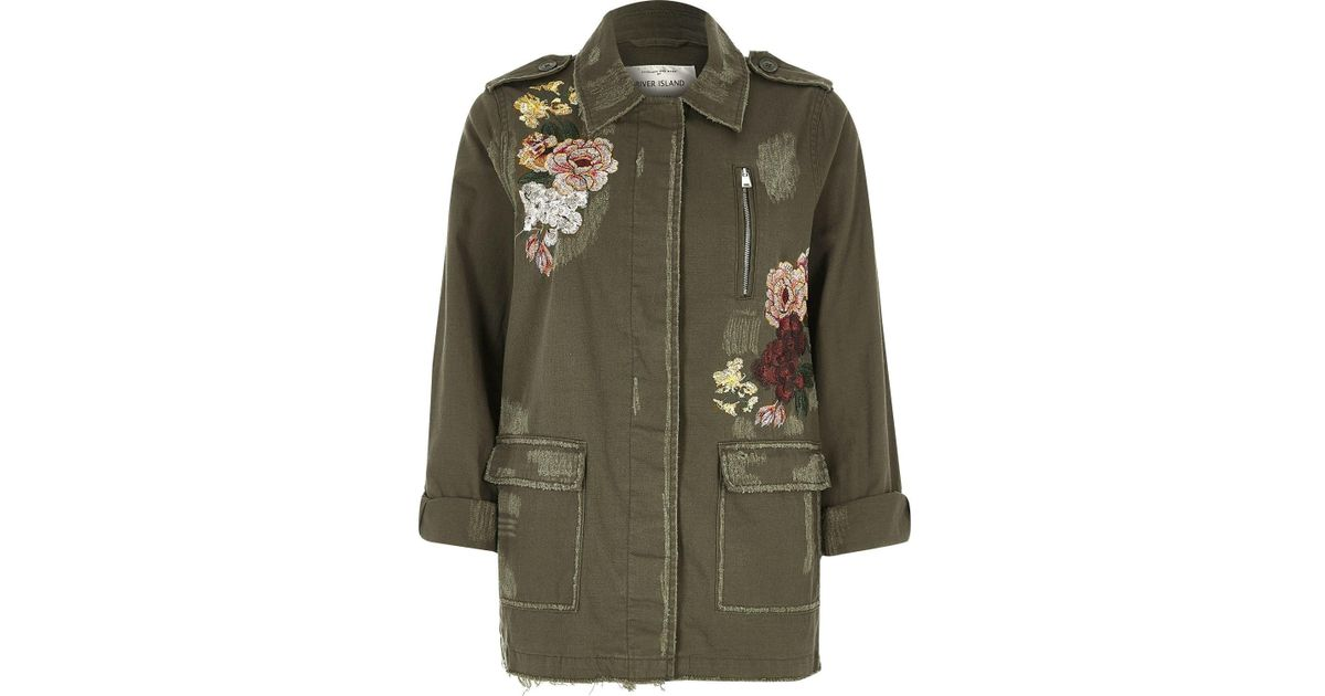 River Island Army Jacket