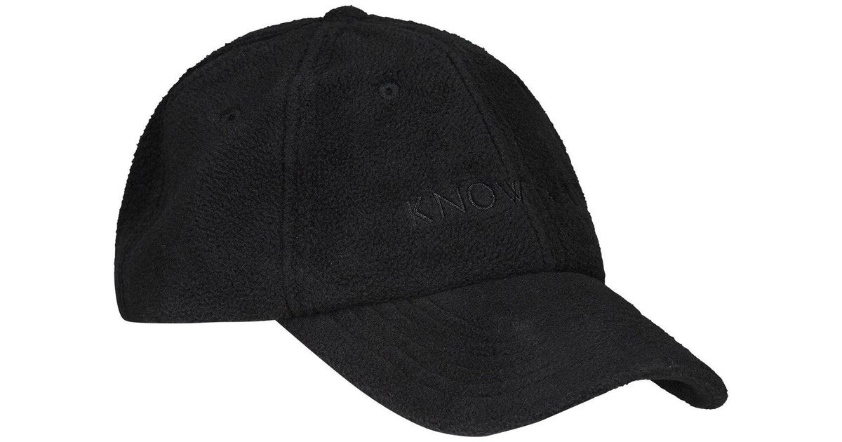 fbc08f859ab Lyst - Know Wave Polartec Fleece Hat in Black