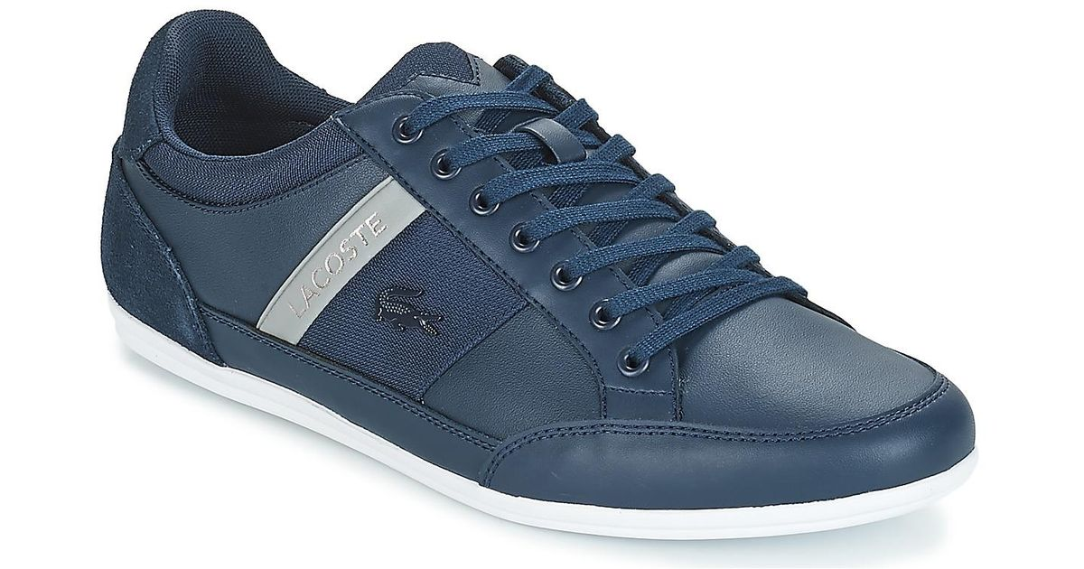 595b5b015 Lacoste Chaymon 318 3 Us Shoes (trainers) in Blue for Men - Lyst