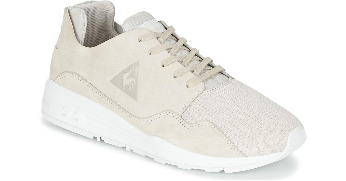 bc5f77576fd Le Coq Sportif Lcs R Pure Mono Luxe Shoes (trainers) in White for Men - Lyst