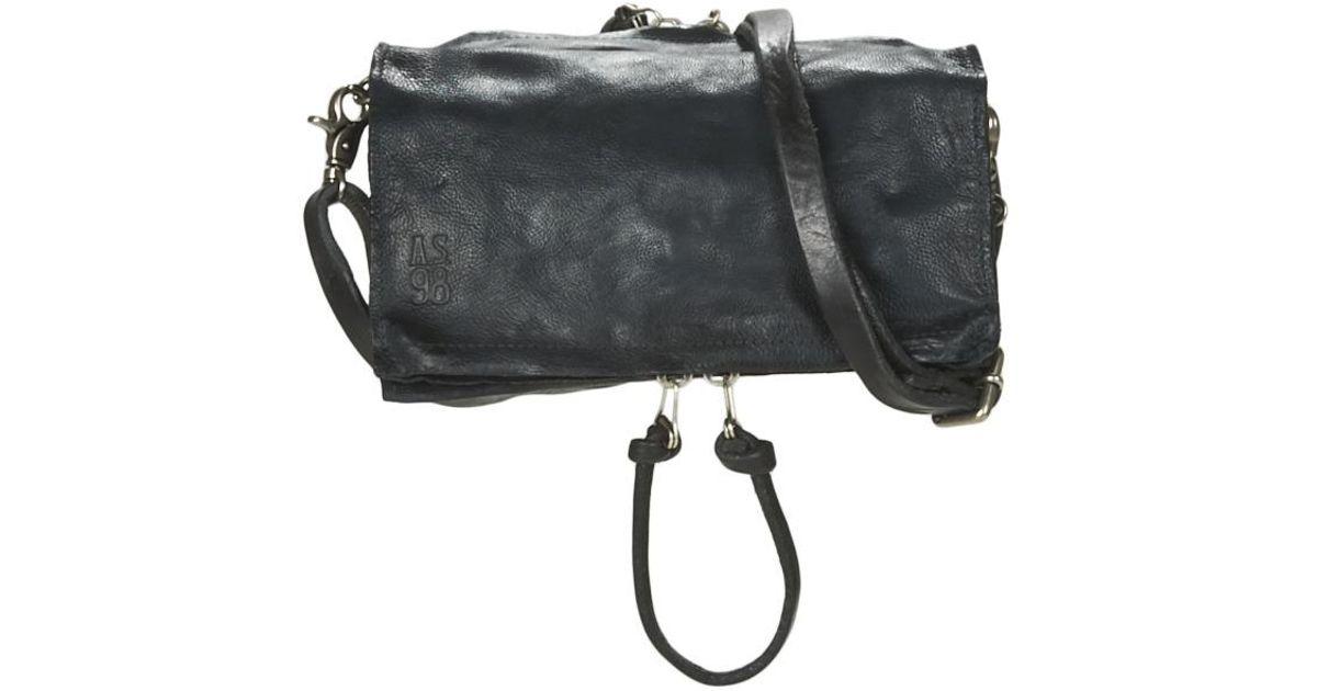 64ddf089e3c5 Airstep   A.S.98 Lara Shoulder Bag in Blue - Lyst