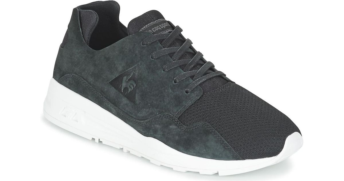 dac26aeda95f Le Coq Sportif Lcs R Pure Mono Luxe Shoes (trainers) in Black for Men - Lyst