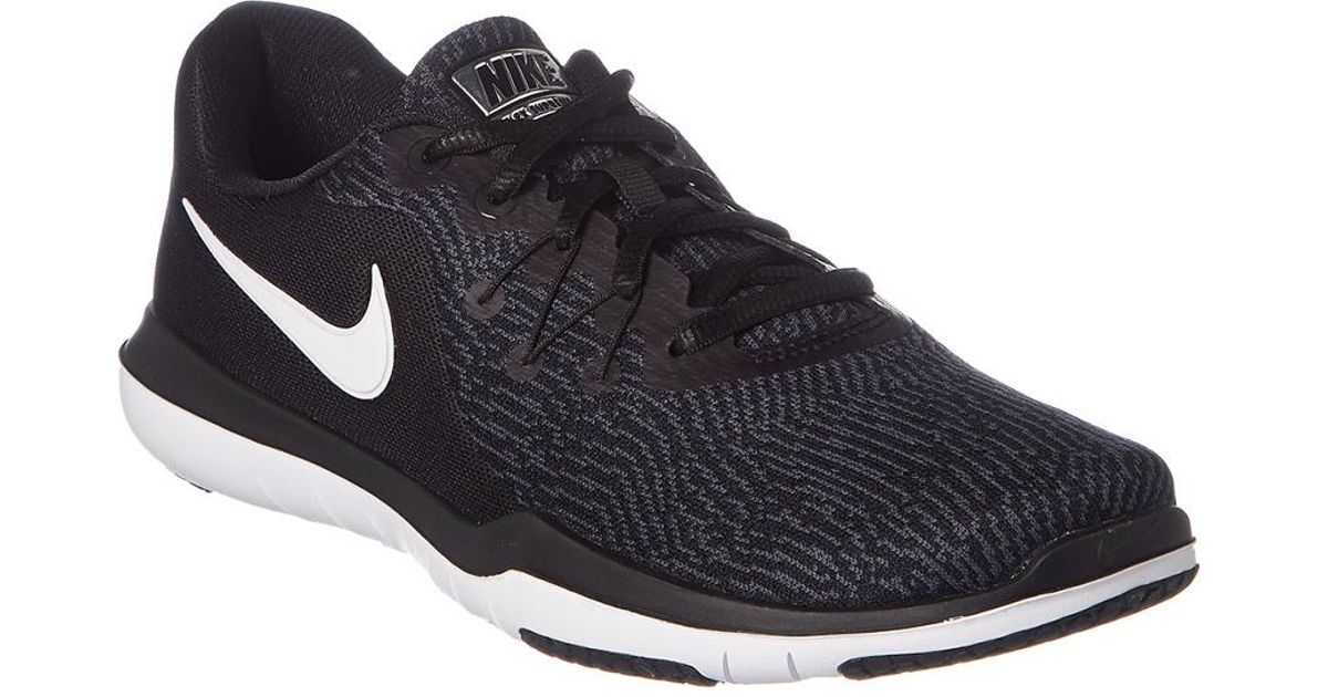 check out 40f50 adffa Nike Women s Flex Supreme Tr 6 Training Shoe in Black - Lyst