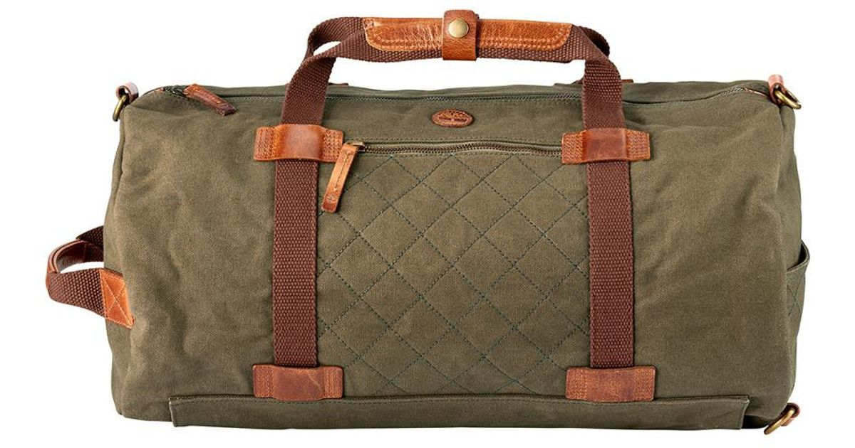 d0d7a23e340 Timberland Nantasket Duffel Bag in Brown for Men - Lyst