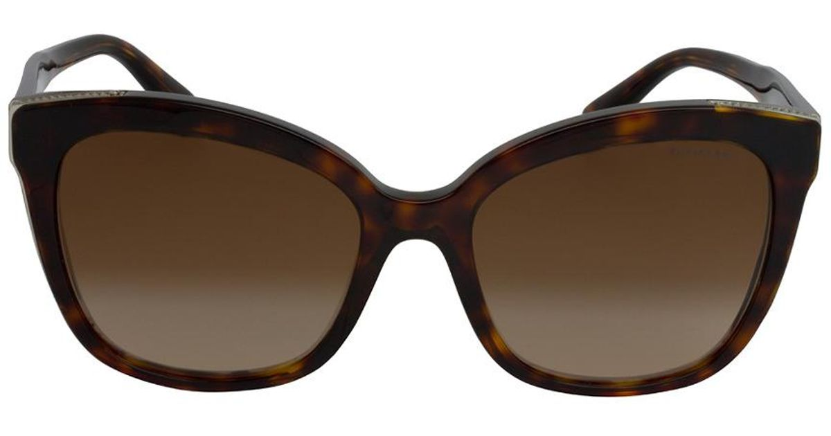 f871c94924a Tiffany   Co. Tf4150 55mm Sunglasses in Brown - Lyst