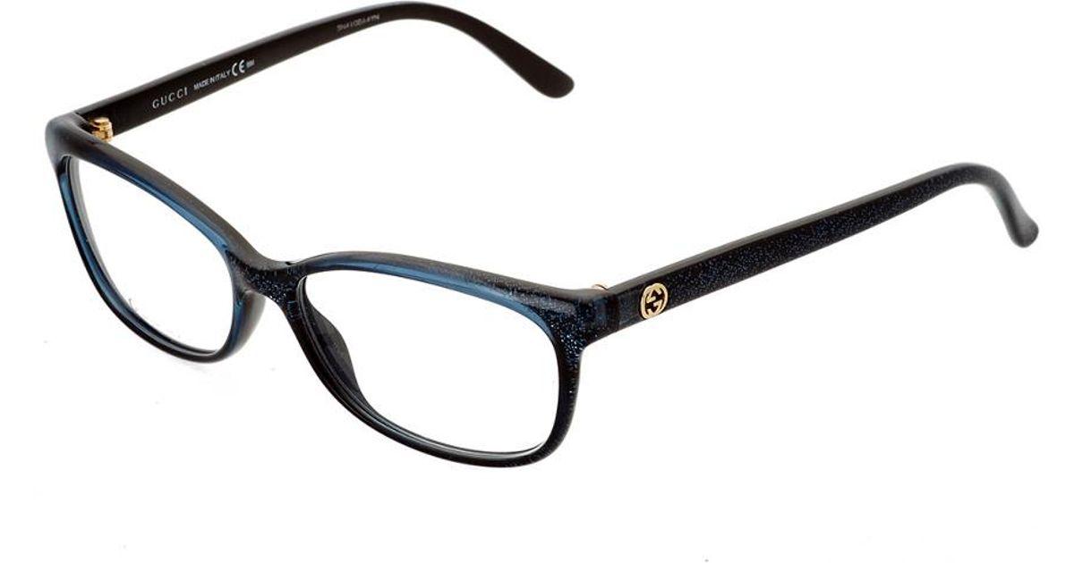 Lyst - Gucci Women\'s Gg3699/n-157324vjv5415 53mm Optical Frames in Black